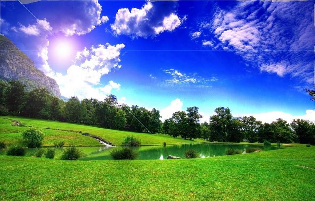 Did God Really Say Landscape Wallpaper Nature Desktop