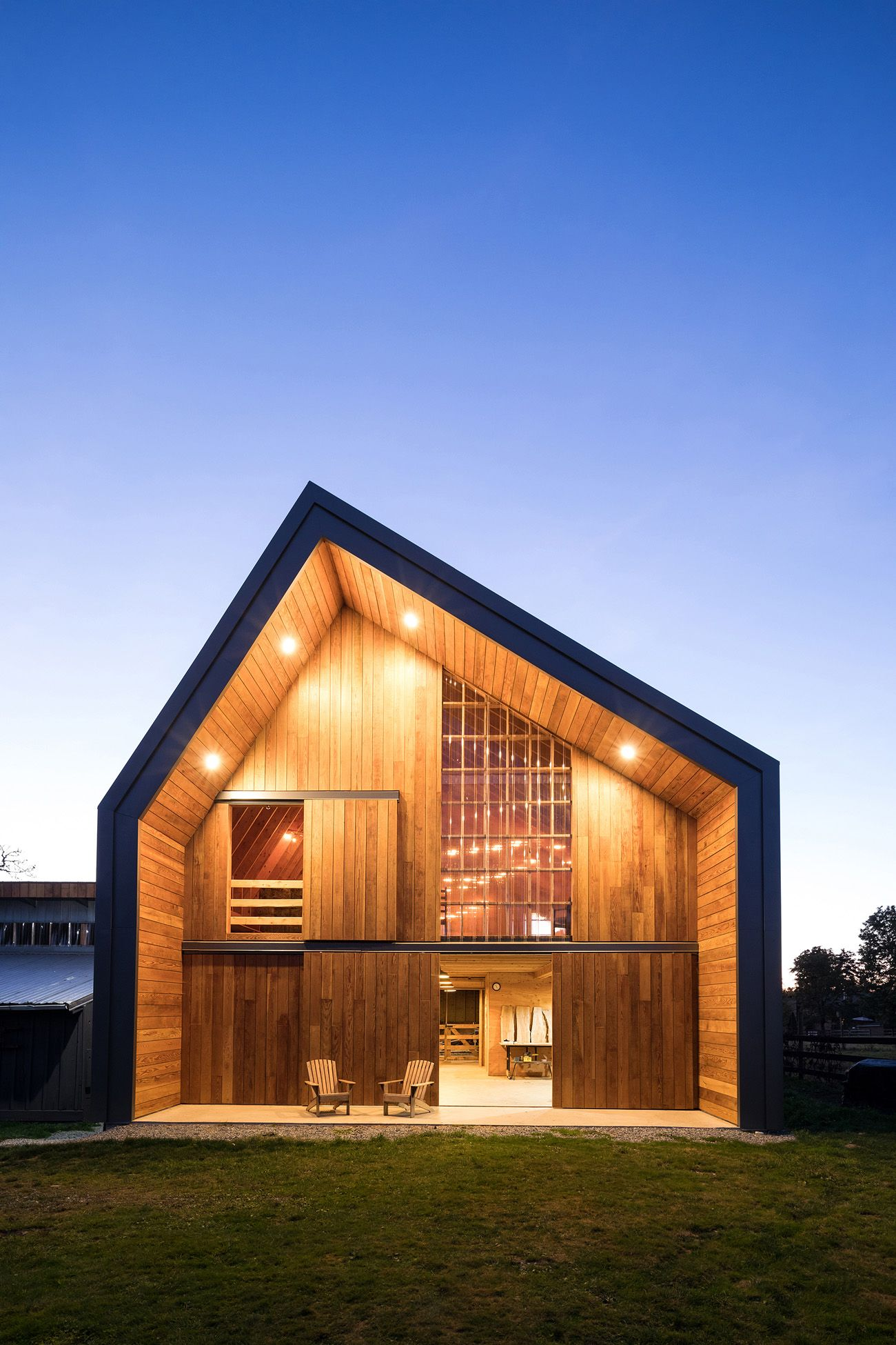 Modern Wooden Barn by MOTIV Architects | Home sweet home | Pinterest ...
