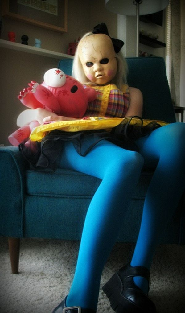 Coole Horror Halloween Kostüme, die den Atem berauben Pinterest - scary halloween ideas