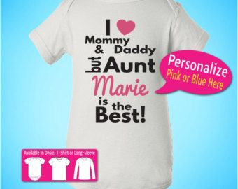 Best aunt personalized baby infant onsie t t shirt tee customized best aunt personalized baby infant onsie t t shirt tee customized gift christmas birthday k1 negle Image collections