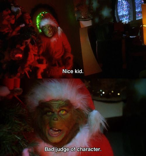 Pin By Macadey Burgess On Best Movie Moments Funny Christmas Movies Grinch Memes Christmas Movie Quotes Funny