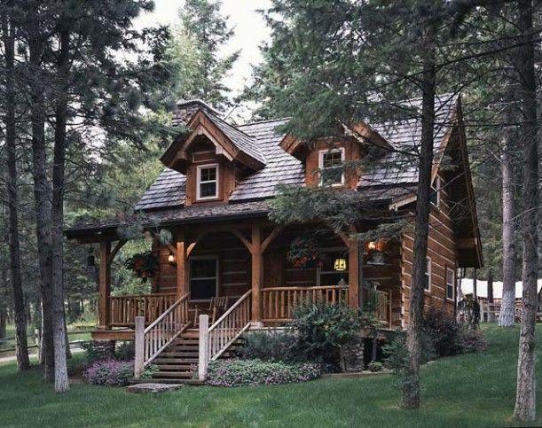 Jack Hanna's Cozy Log Cabin in Montana