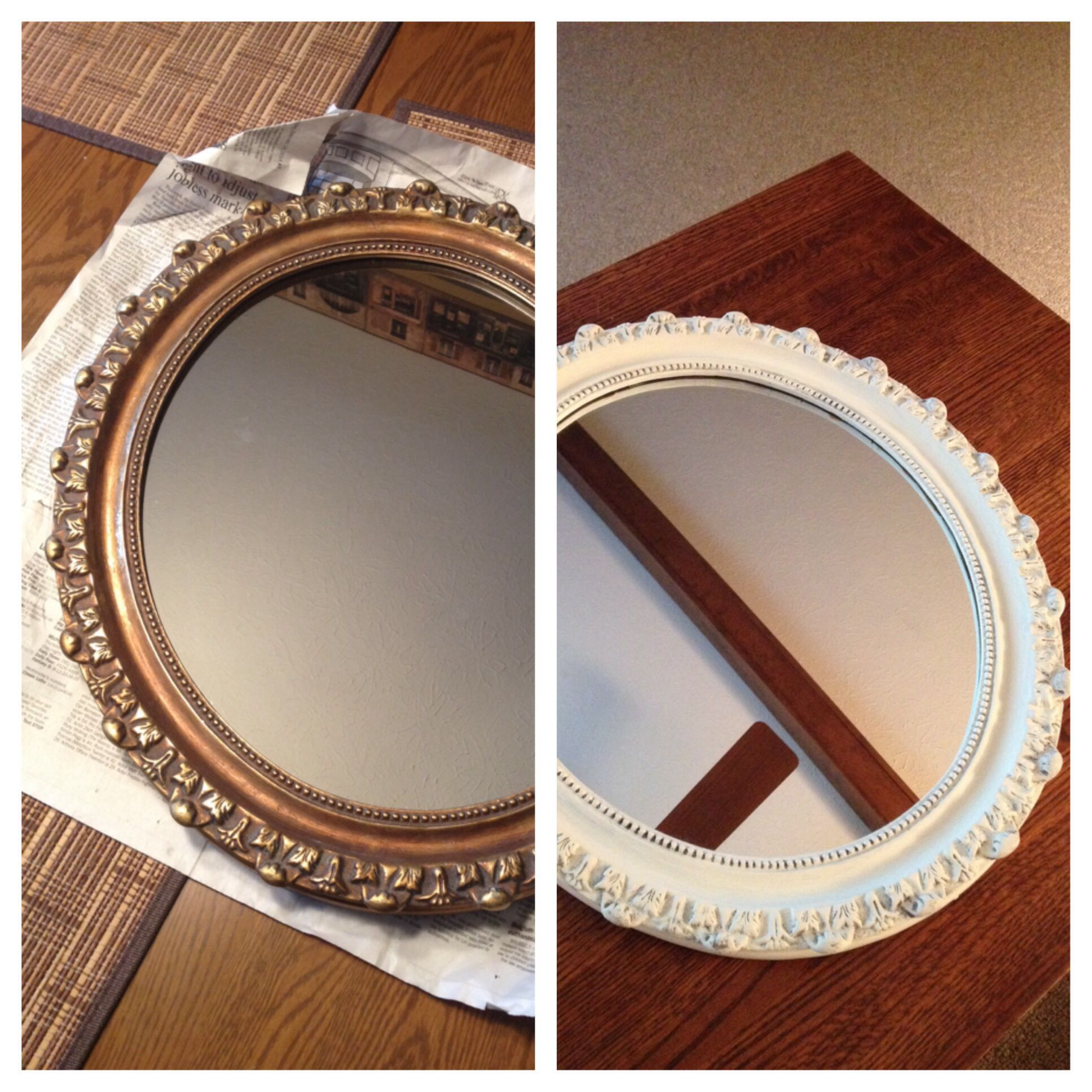 Before and After: Annie Sloan Old White chalk paint