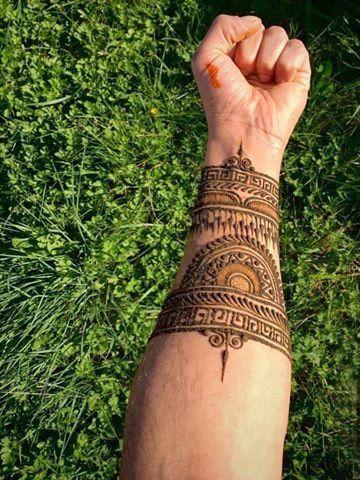 Diseños De Tatuajes De Henna Para Hombres Chidos Y Faciles