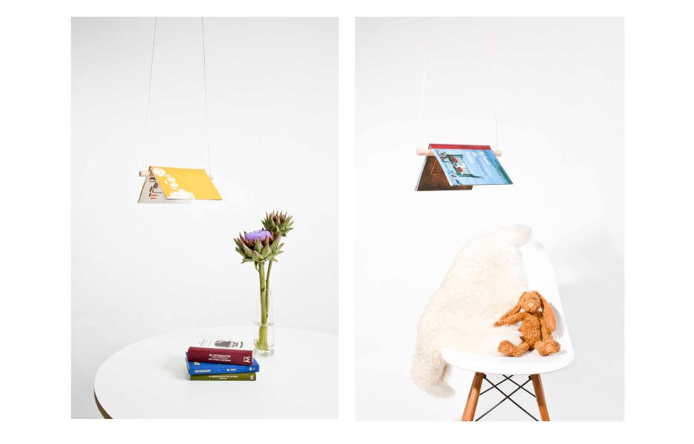 The Booklamp by Froeling/Kuyvenhoven.