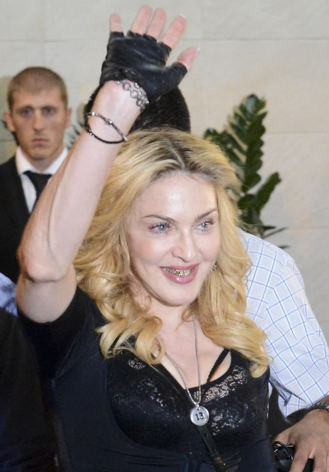 Check out Madonna's grill. Yup, she's 55 and rockin' a decorative mouth piece. I... - http://tvnow.us/check-out-madonnas-grill-yup-shes-55-and-rockin-a-decorative-mouth-piece-i/