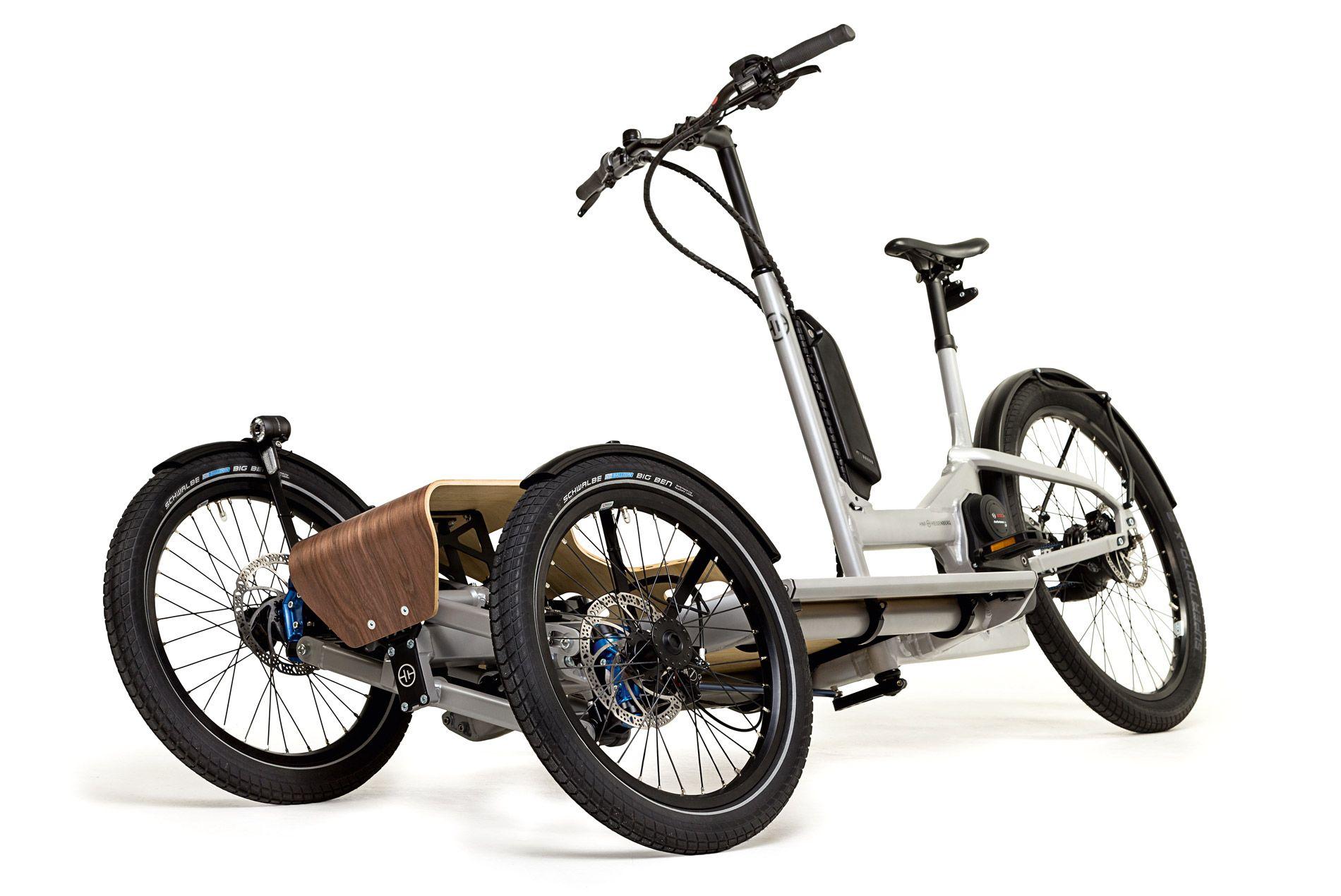 hnf heisenberg cd1 cargo dreirad fahrrad e bike neuheiten und lastenfahrrad. Black Bedroom Furniture Sets. Home Design Ideas