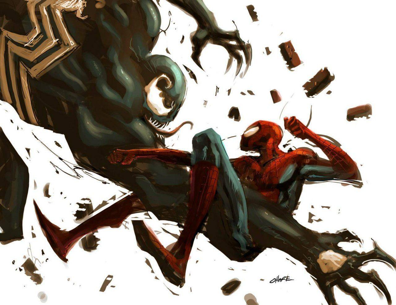 того, картинки умирающего человека паука сделать