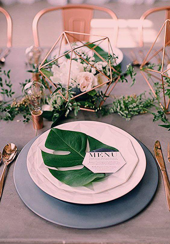 Photo of 28 Kantige Tropische Blatt Hochzeits Ideen — Modekreativ.com