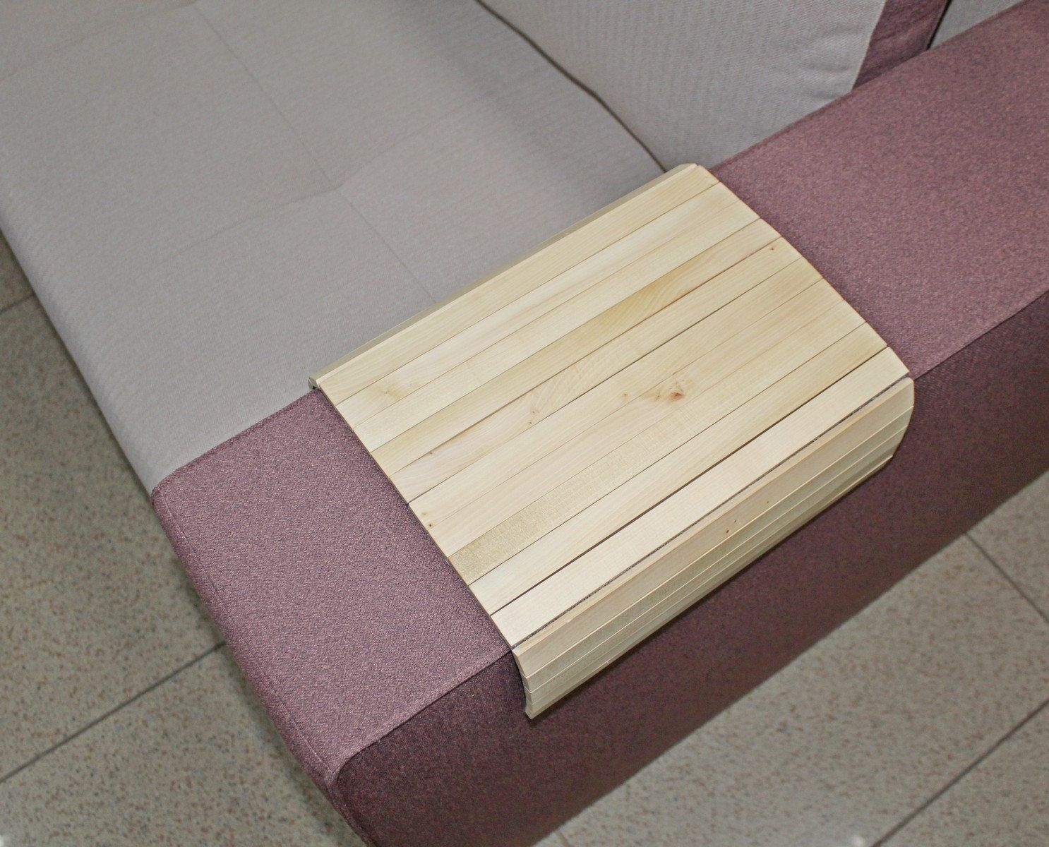 Sofa Tray Table Sofa Arm Tray Armrest Tray Sofa Arm Table Couch Tray Coffee Table Flexible Tray Adjustable Tray Flexible Wooden Tea Tray Sofa Arm Table Couch Tray Tray Table