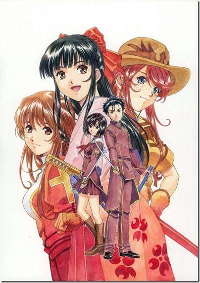 Sakura Wars Anime Stuffs サクラ大戦 アニメイラスト アニメ