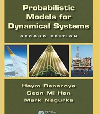 Probabilistic Models For Dynamical Systems Second Edition Pdf