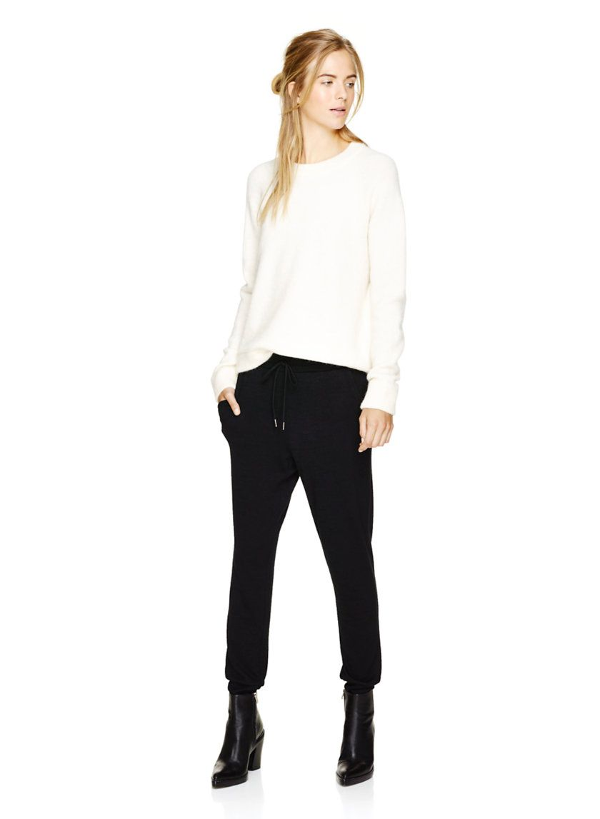 WILFRED FREE ALINE PANT - A slimmed down spin on the jogger
