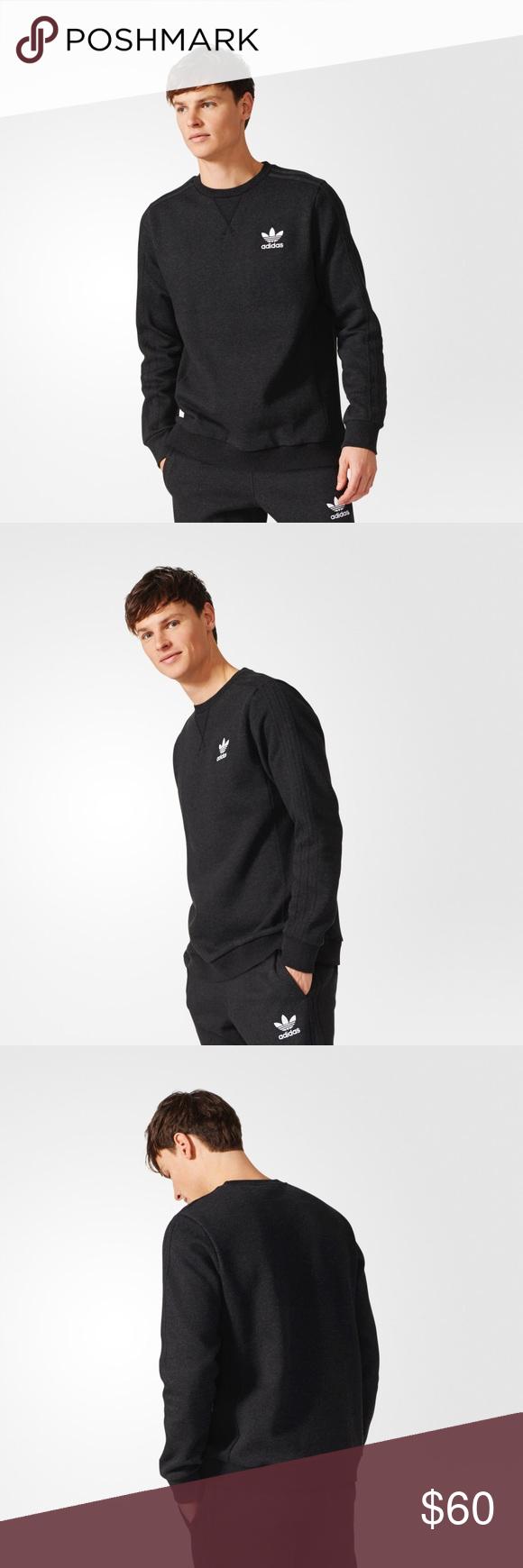 Essentials Fleece Sweatshirt Br4197 H4 Sweatshirt Fleece Sweatshirts Long Sleeve Tshirt Men [ 1740 x 580 Pixel ]