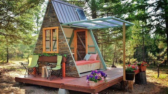Tiny House Selber Bauen Planung Baugenehmigung Kosten Tiny House Design A Frame House A Frame Cabin