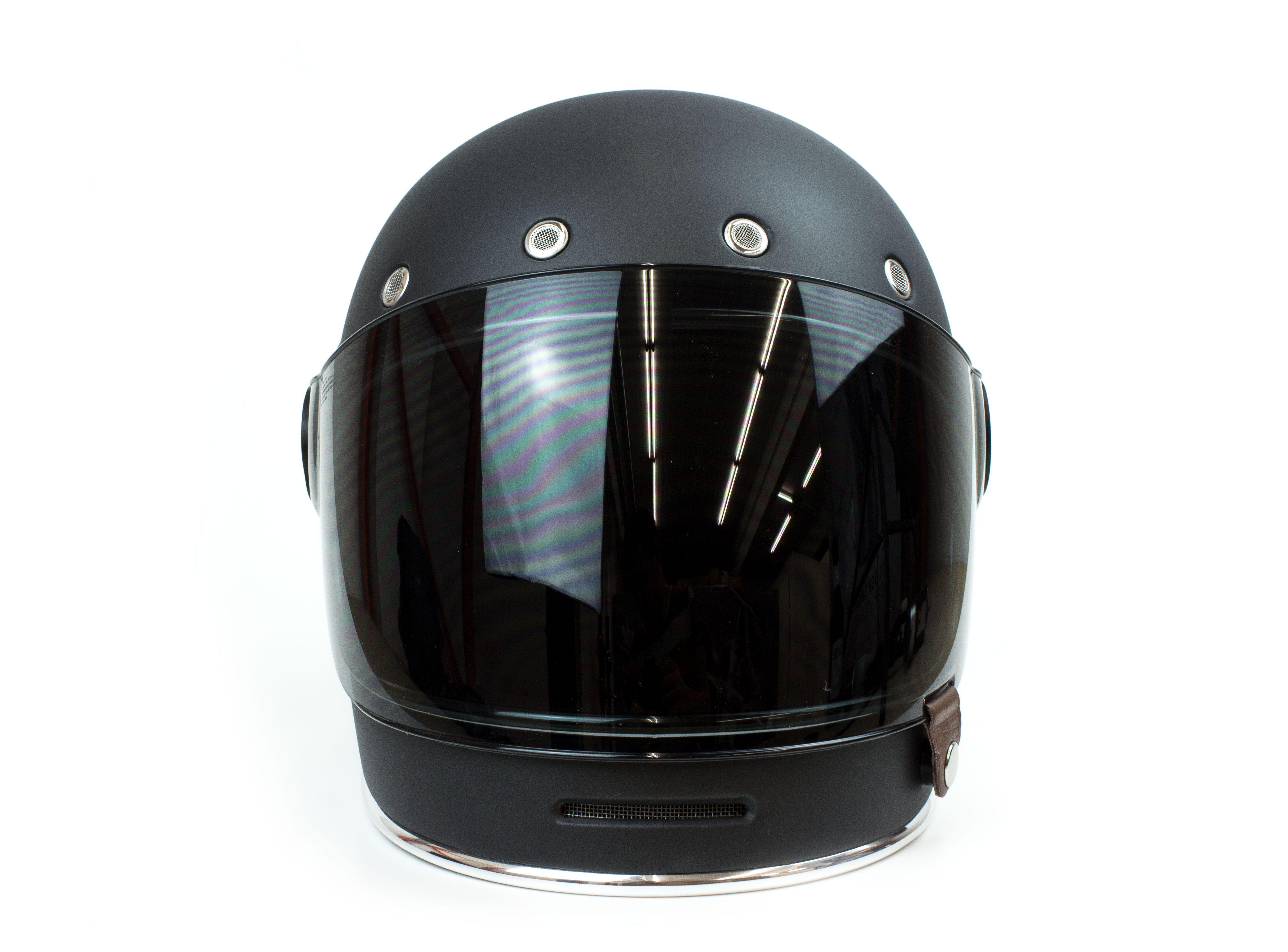 Helmade Inverted Gradient Helmetdesign Black Silver Matte Bell Bullitt Helmet Design Your Own On Www Helmade Com Helm