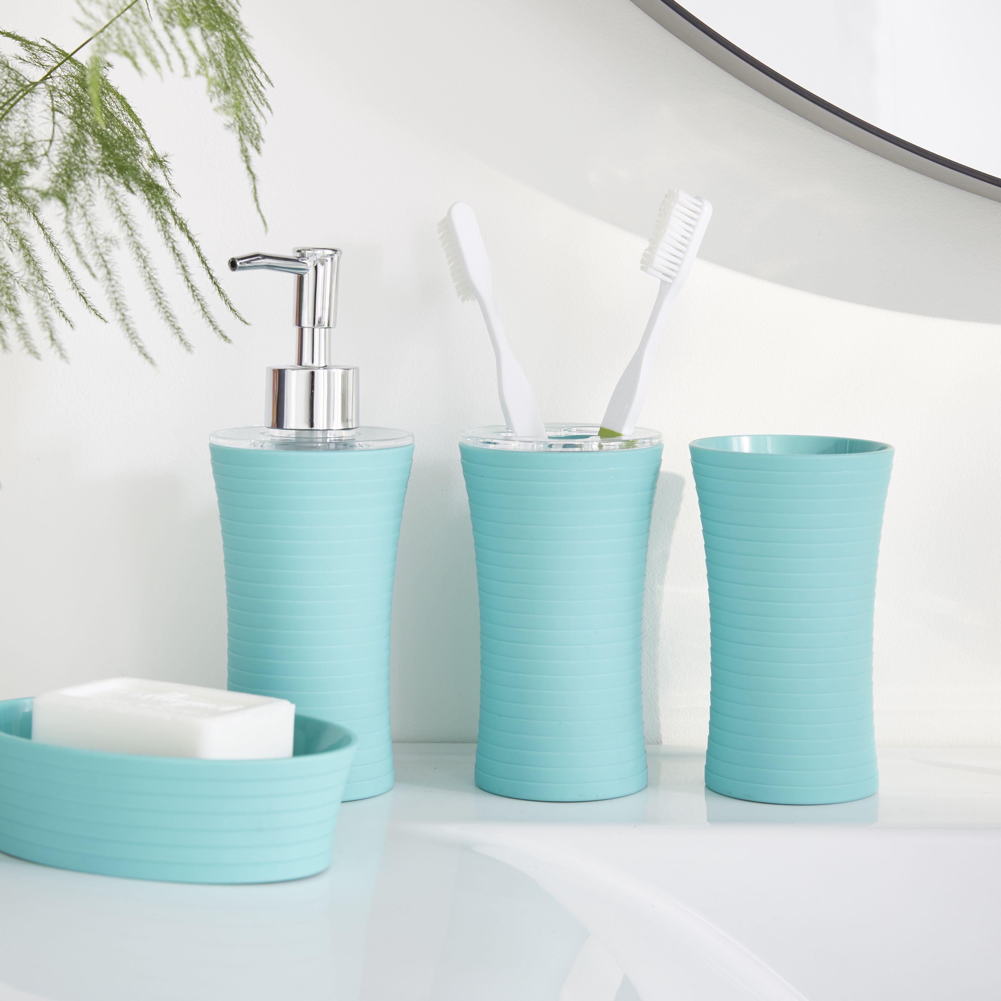 Slup | Gamme pour salle de bain bleu lagon - Alinéa | Salle de bain ...