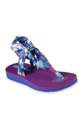 Skechers Meditation Summer Sling Sandal Girls Toddler
