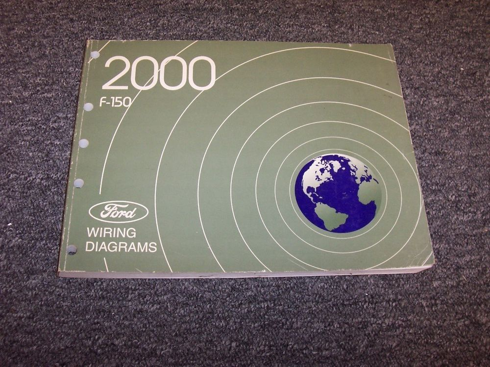 2000 Ford F150 Electrical Wiring Diagram Manual Work Xl