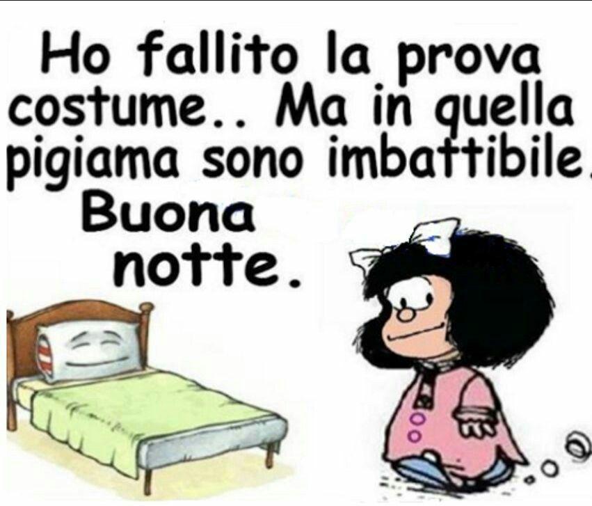 Mafalda Buonanotte Buonanotte Buona Serata Pinterest