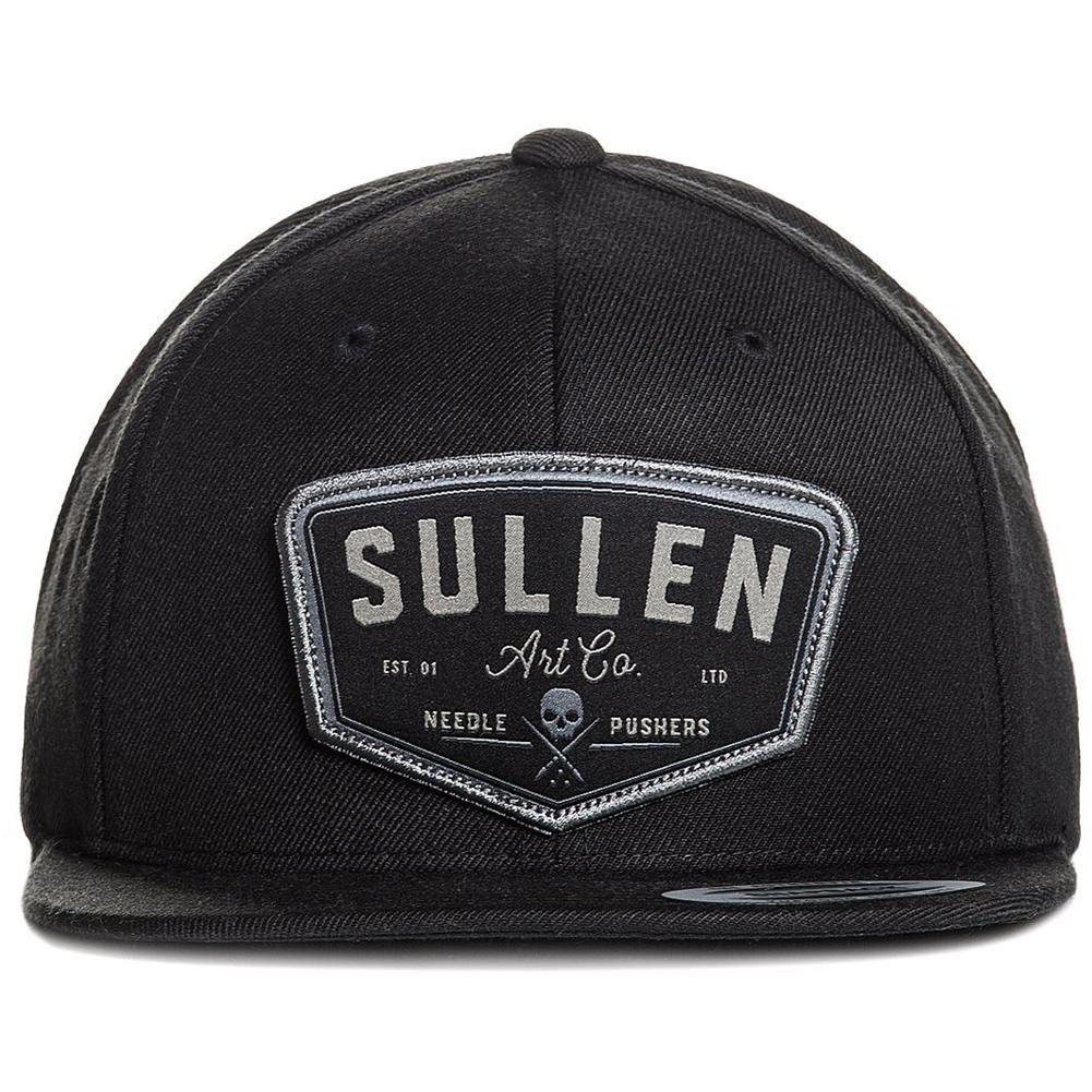 fa90ab0cf8f0c Inked Boutique - Sullen Trails Snapback Hat Black Skull Logo Tattoo Art  Lifestyle Brand www.inkedboutique.com