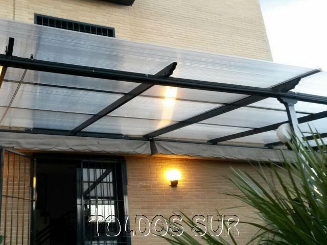 Techos policarbonato aluminio buscar con google techos for Cubiertas para techos livianas