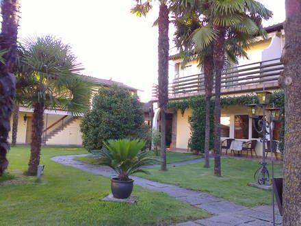 Gartenanlage * Hotel Albergo Mimosa