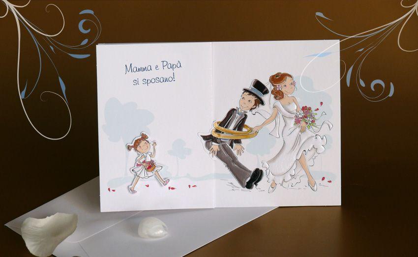 Partecipazioni Matrimonio Mamma E Papa Si Sposano.Mamma E Papa Si Sposano Partecipazioni Nozze Matrimonio Idee