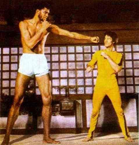 Bruce Lee Yellow Jumpsuit like Enter the Dragon and Game of Death ...