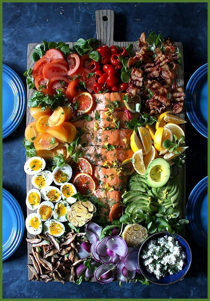 Ich habe eine lustige Möglichkeit gefunden, einen Salat zu genießen, der nicht #Der #eine #einen #Fi...