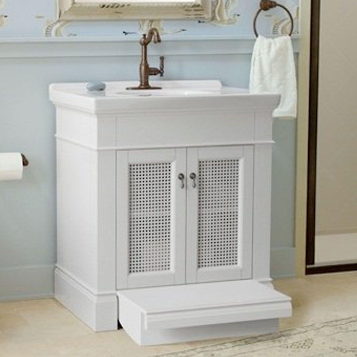 American standard portsmouth 30 wood vanity - American standard bathroom cabinets ...