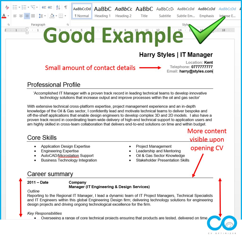Pin by CV Optimizer on CV / Resume Tips Resume skills