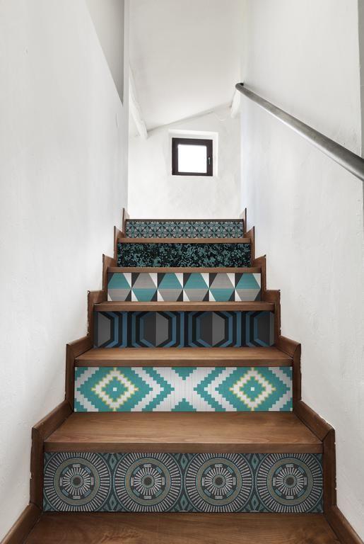 Et si on mettait du papier peint ailleurs que sur les murs ? Stair