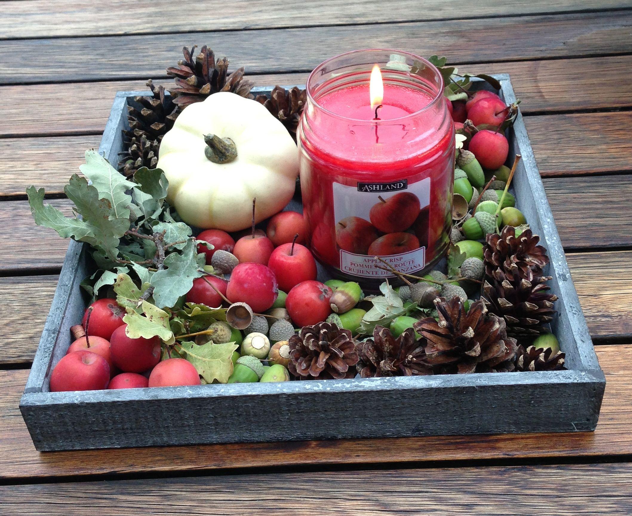 tafeldecoratie herfst tuin pinterest herfst