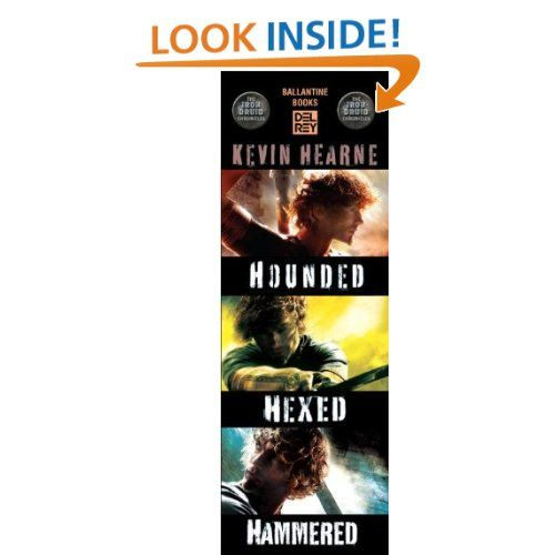 The Iron Druid Chronicles 3-Book Bundle: Hounded,Hexed,Hammered. Is a great deal and a MUST read. Well mixed Mythology and magic rolled into a great series...(Finished books 1-3)