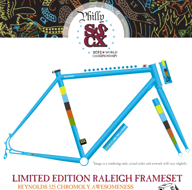 Raleigh Unveils SSCXWC 2013 Limited Edition Frameset – Reynolds ...