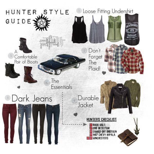 Supernatural outfits