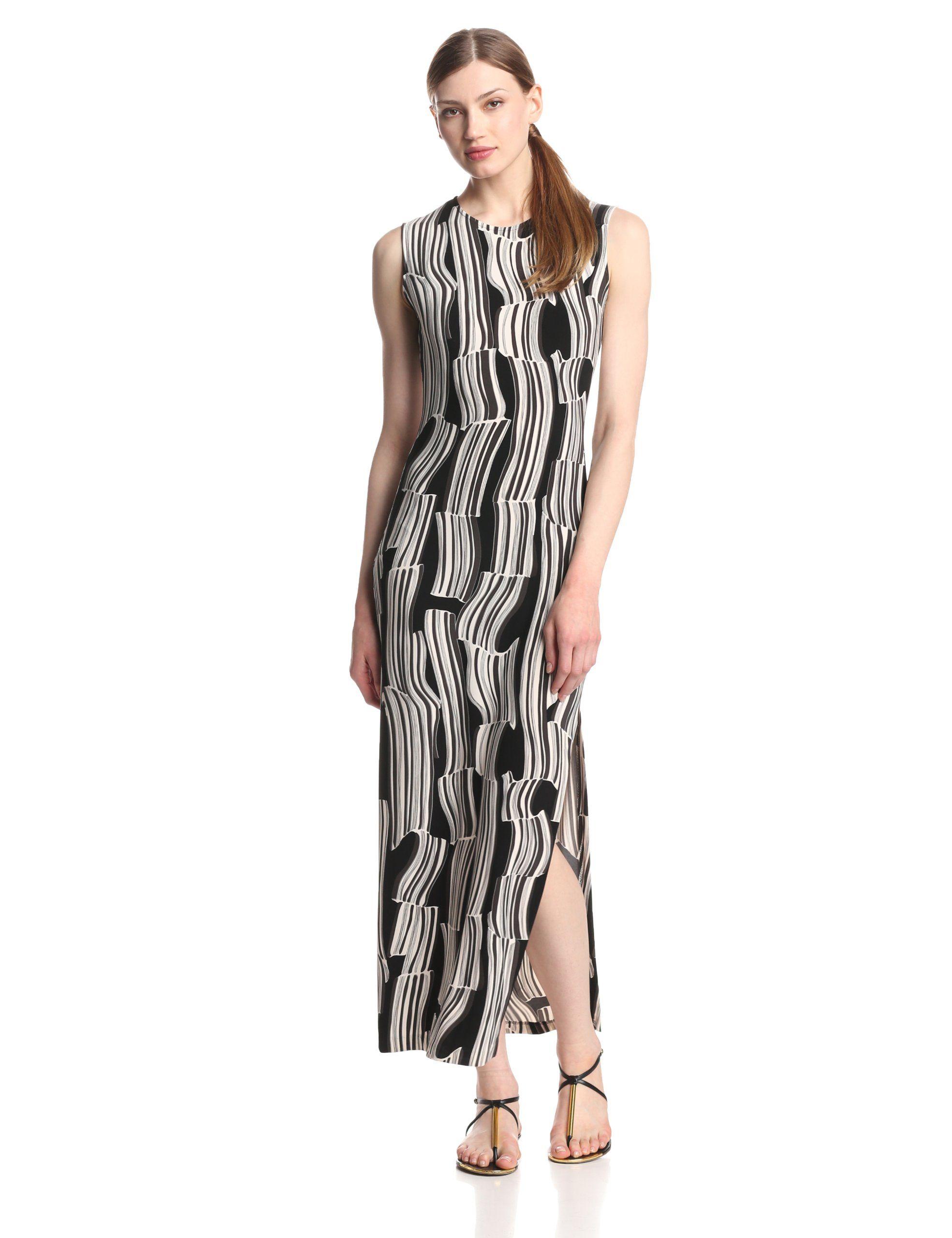 Kamalikulture womenus maxi dress with slit her o u t f i t s