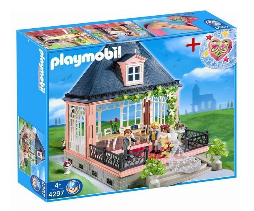 Schön Playmobil 4297 Wedding Pavilion With Jewel Case HTF Retired Set #PLAYMOBIL