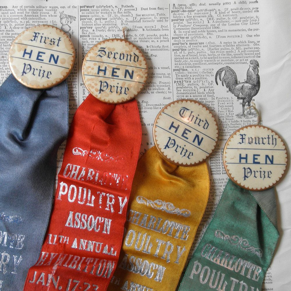 Poultry Prize Ribbons