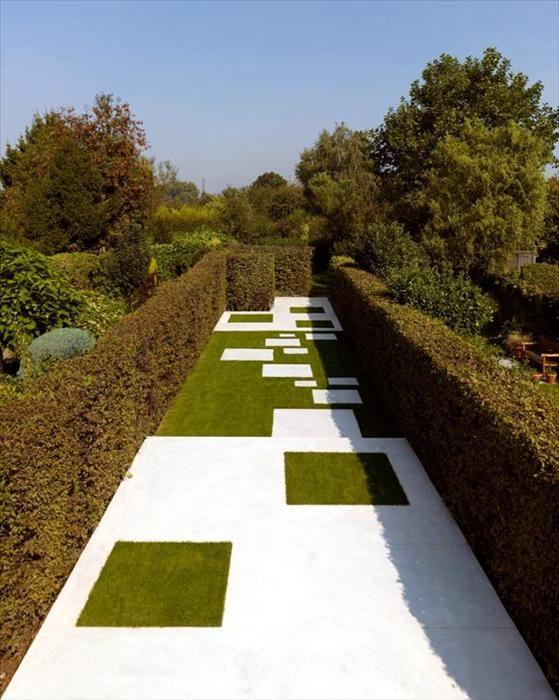 Ideas zona juego biosaludable combinar pavimento hormig n for Pavimento jardin