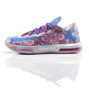 6d17f6771a18 Kevin Durant s New Sneakers Pay Floral, Pastel Tribute To His Late ...