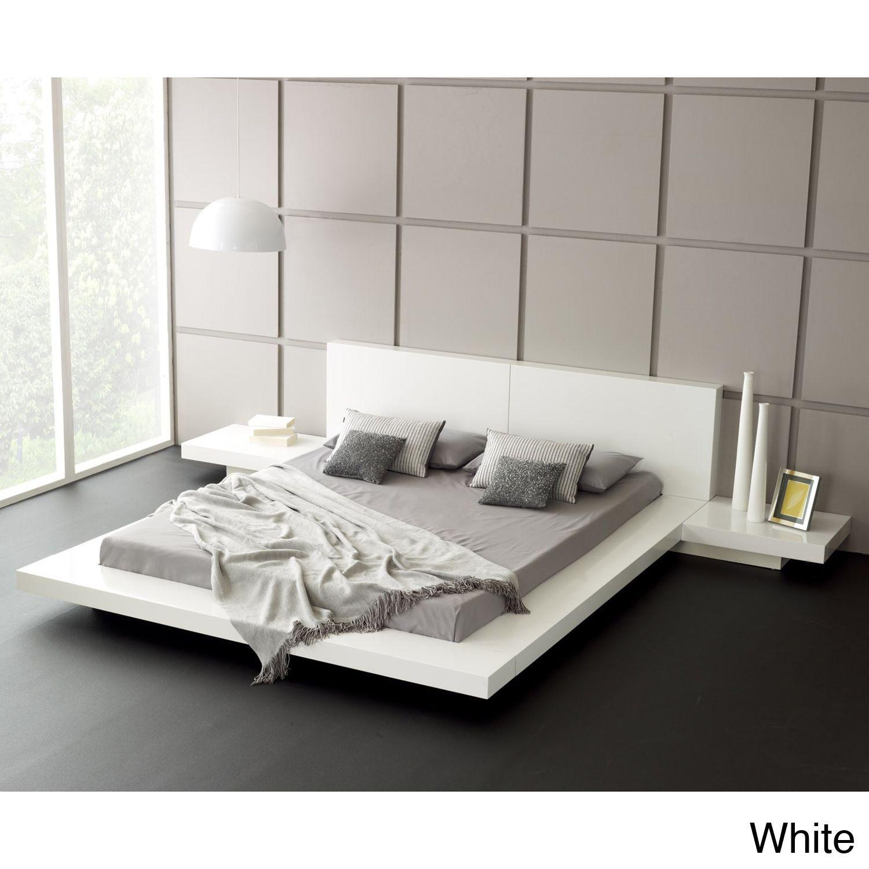 Matisse Fujian 3 Piece Queen Size Platform Bedroom Set Espresso  # Muebles Matisse