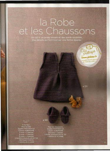 Phildar layette 64 - Les tricots de Loulou - Picasa Web Albums