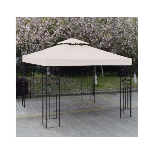 Gazebo Replacement Canopy 10 X 10 Top Cover Patio Garden Outdoor Sunshade 10x10 Gazebo Replacement Canopy Gazebo Patio