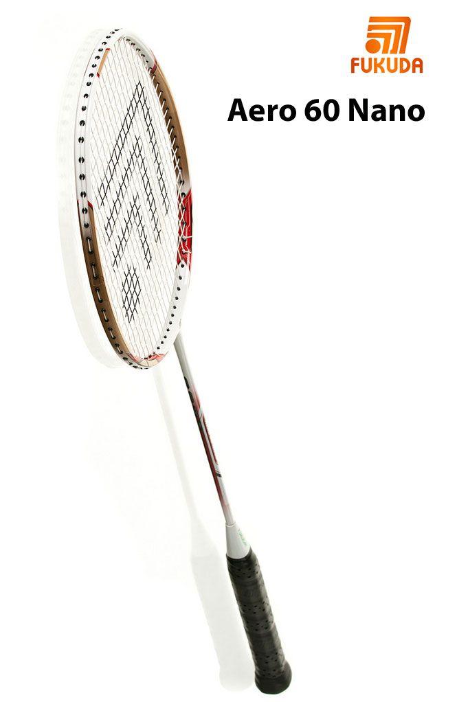 #Raqueta de #badminton #Fukuda modelo Aero 60 Nano. Visita nuestra tienda online.