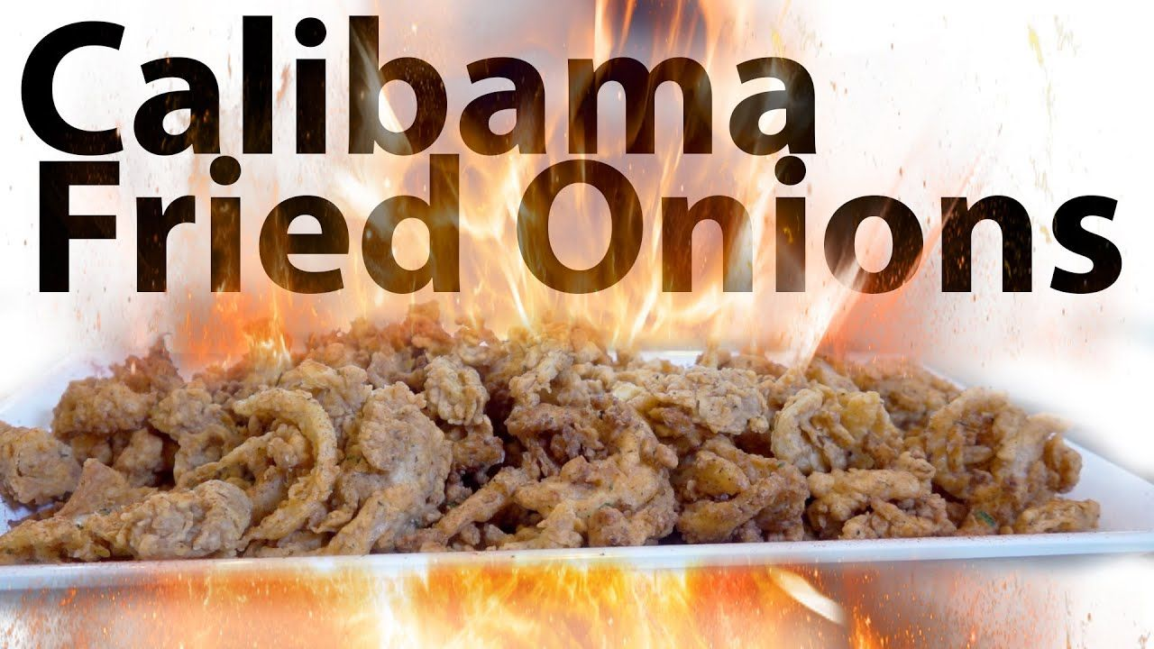 Calibama fried onions chef lorious youtube in 2020