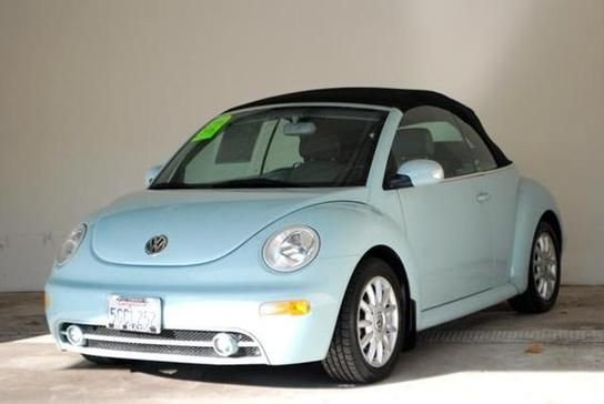 Light Blue Vw Beetle Convertible My La Dream Car