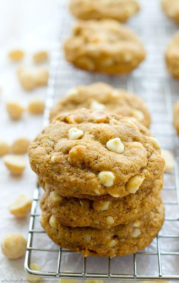 White Chocolate Macadamia Nut Edible Cookie Recipe