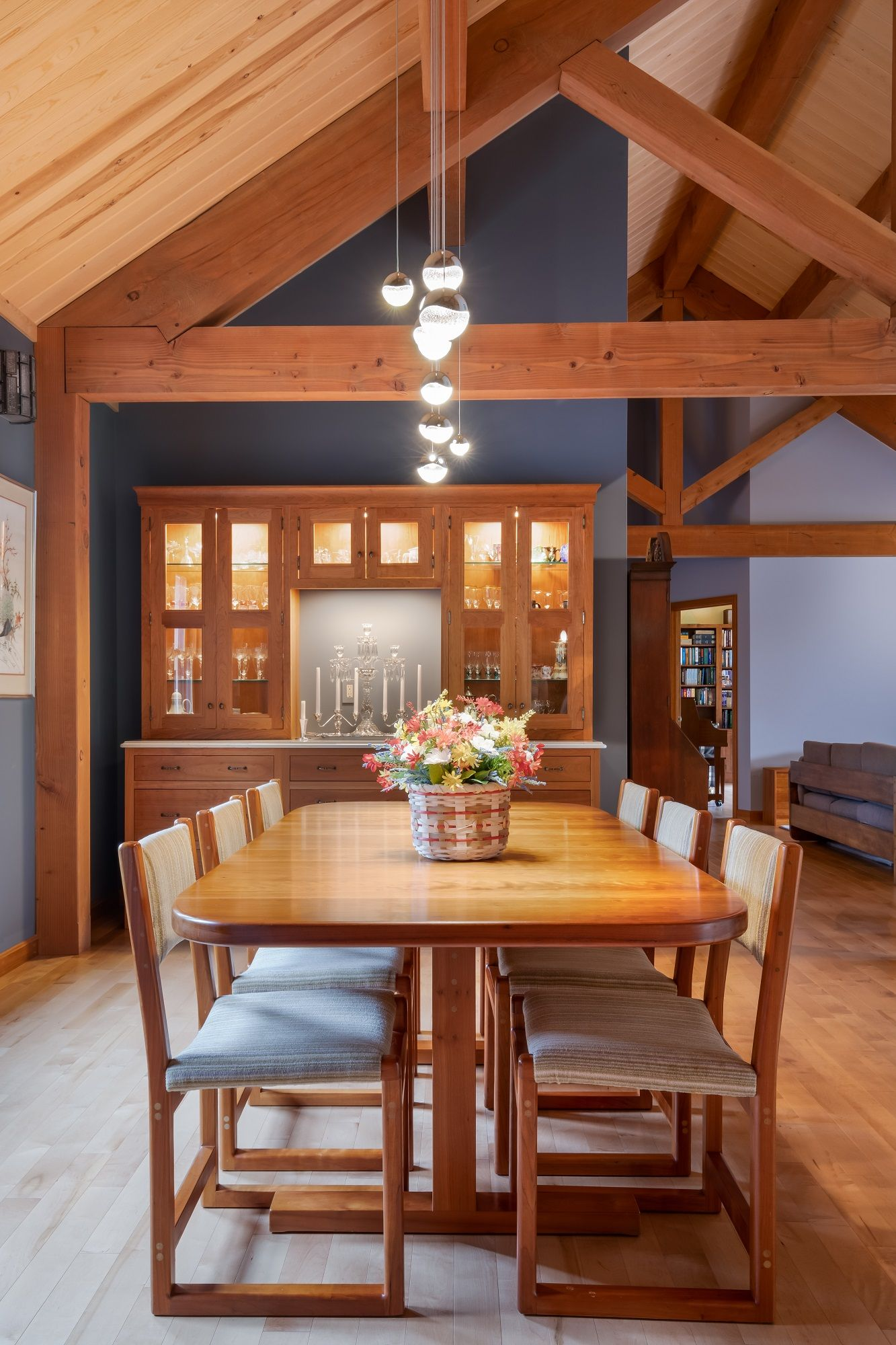Granite Ridge – A Single Story Post and Beam Beauty